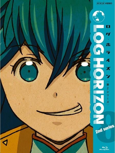 ログ・ホライズン 第2シリーズ 8 (ブルーレイディスク)