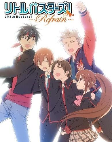 リトルバスターズ!〜Refrain〜5 (初回限定版) (ブルーレイディスク)
