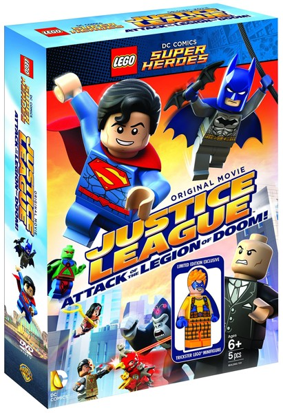 LEGO スーパー・ヒーローズ:ジャスティス・リーグ(2枚組)トリックスター ミニフィギュア付き(数量限定生産 ブルーレイディスク&DVDセット)