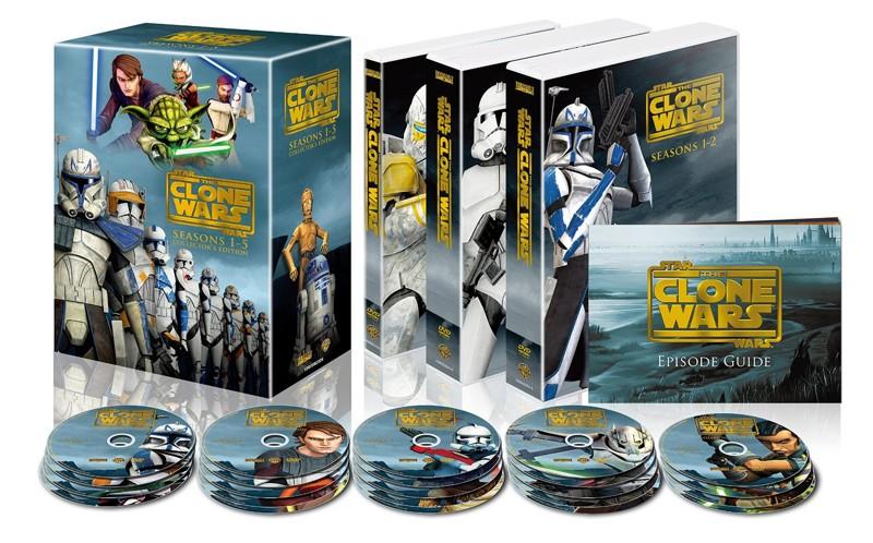 スター・ウォーズ:クローン・ウォーズ シーズン1-5 コンプリート・セット(22枚組)
