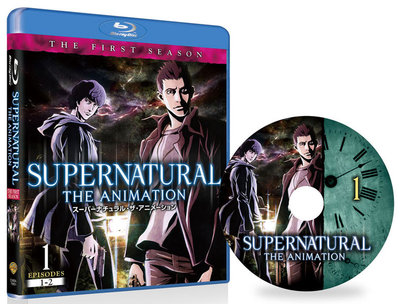 SUPERNATURAL THE ANIMATION  Vol.1 (ブルーレイディスク)