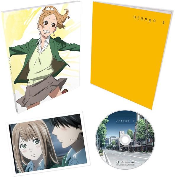 TVアニメ「orange」 Vol.5 (初回生産限定版 ブルーレイディスク)