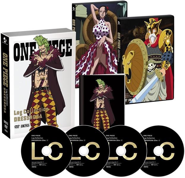ONE PIECE Log Collection 'DRESSROSA'