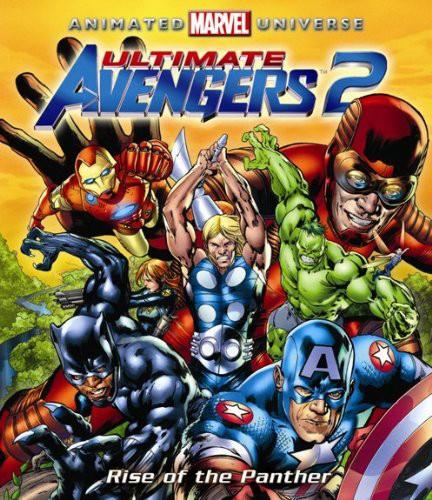 アルティメット・アベンジャーズ 2:ブラック・パンサー・ライジング (ブルーレイディスク)