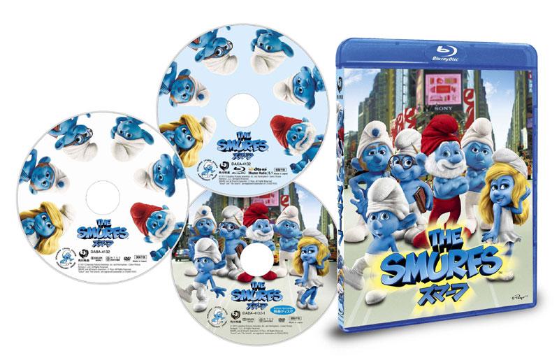 スマーフ 3D/2D (ブルーレイディスク&DVDセット)