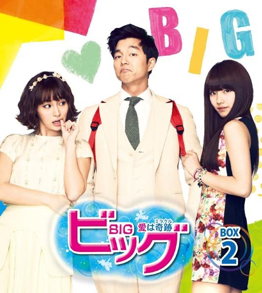 ビッグ〜愛は奇跡〜期間限定スペシャルプライスDVD-BOX2