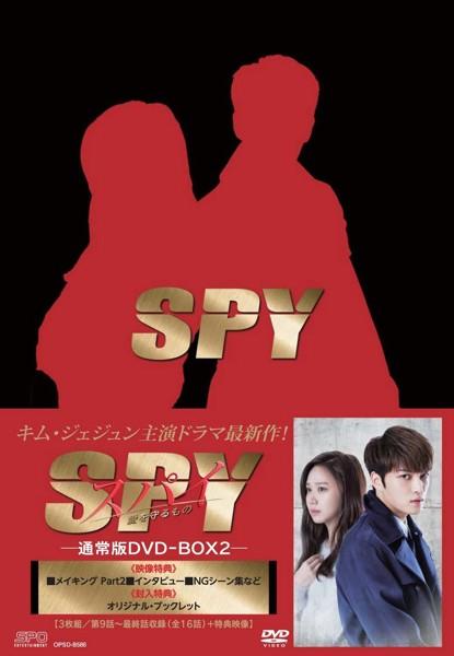 スパイ〜愛を守るもの〜 DVD-BOX2