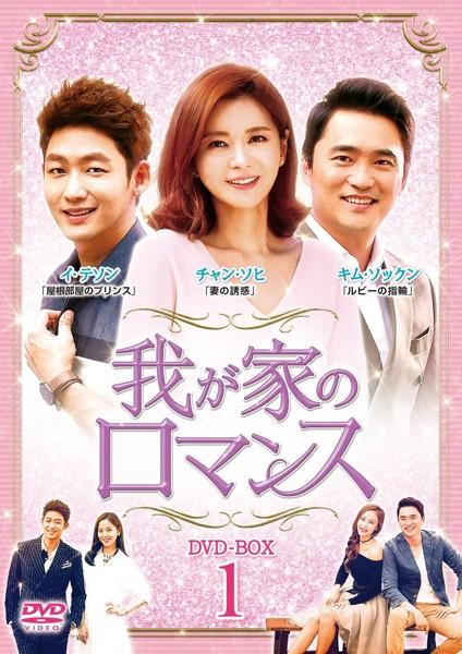我が家のロマンス DVD-BOX1