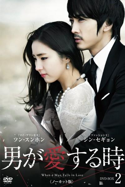 男が愛する時  DVD-BOX2