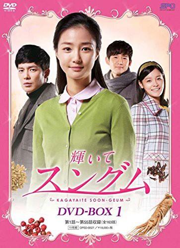 輝いてスングム DVD-BOX1(11枚組)