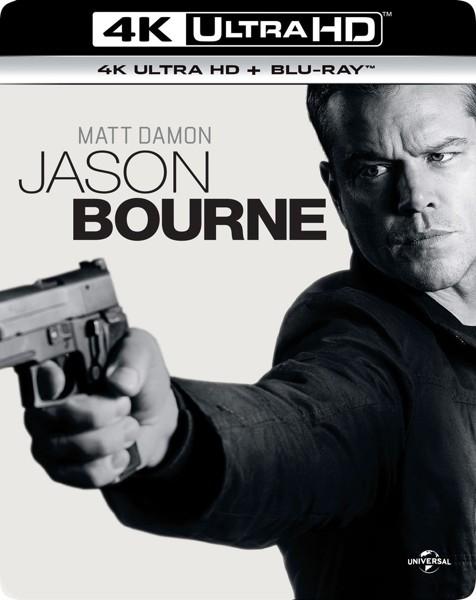 ジェイソン・ボーン (4K ULTRA HD+ブルーレイディスクセット)