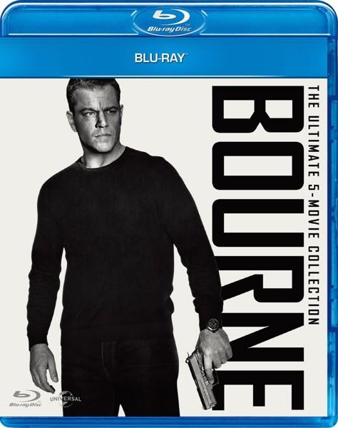 ジェイソン・ボーン・シリーズ/ペンタロジー Blu-ray SET (初回限定生産 ブルーレイディスク)