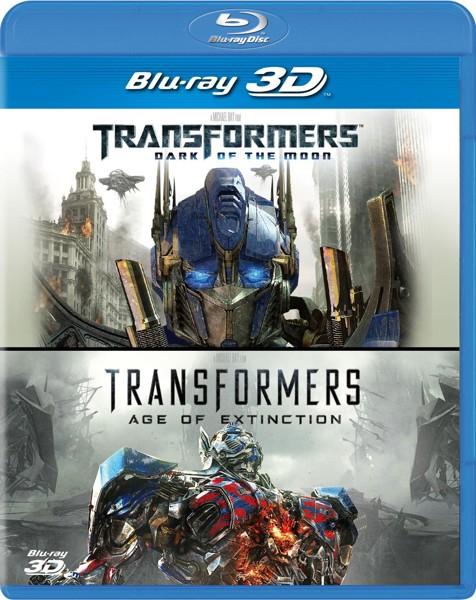 トランスフォーマー/ダークサイド・ムーン&トランスフォーマー/ロストエイジ 3D ベストバリューBlu-rayセット(期間限定スペシャルプライス ブルーレイディスク)