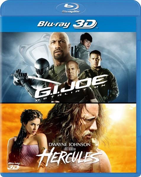 G.I.ジョー バック2リベンジ&ヘラクレス 3D ベストバリューBlu-rayセット(期間限定スペシャルプライス ブルーレイディスク)