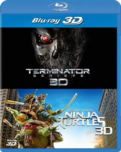ターミネーター:新起動/ジェニシス&ミュータント・タートルズ 3D ベストバリューBlu-rayセット(期間限定スペシャルプライス ブルーレイディスク)
