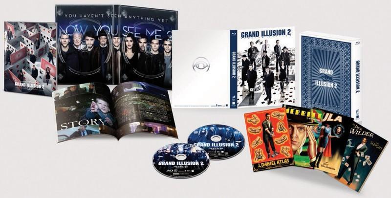 グランド・イリュージョン 見破られたトリック プレミアム・エディション (初回限定生産 ブルーレイディスク&DVD)