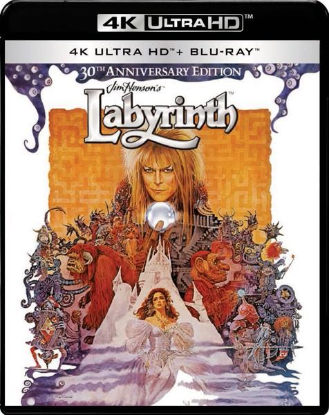 ラビリンス 魔王の迷宮 (4K ULTRA HD+ブルーレイディスクセット)