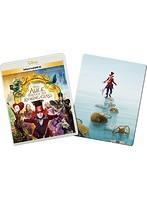 オンライン数量限定商品 アリス・イン・ワンダーランド/時間の旅 (ブルーレイ3D+ブルーレイ+DVD+デジタルコピー(クラウド対応)+MovieNEXワールド+スチールブック)