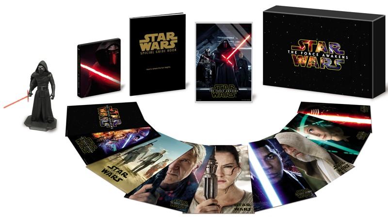 スター・ウォーズ/フォースの覚醒 MovieNEXプレミアムBOX (数量限定商品 ブルーレイ+DVD+スマホで本編視聴(デジタルコピー)+MovieNEXワールド)