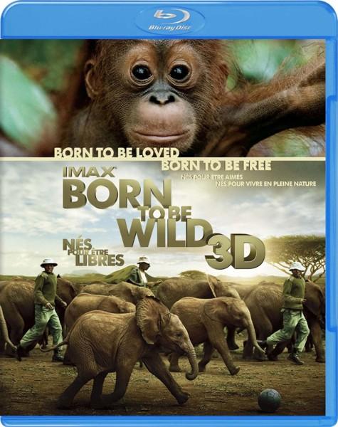 IMAX:Born To Be Wild 3D-野生に生きる-(3DBD) (ブルーレイディスク)