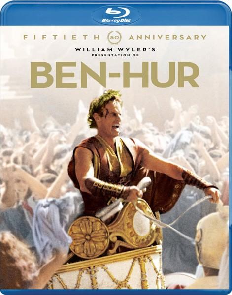 【初回限定生産】ベン・ハー 製作50周年記念リマスター版(2枚組 ブルーレイディスク)