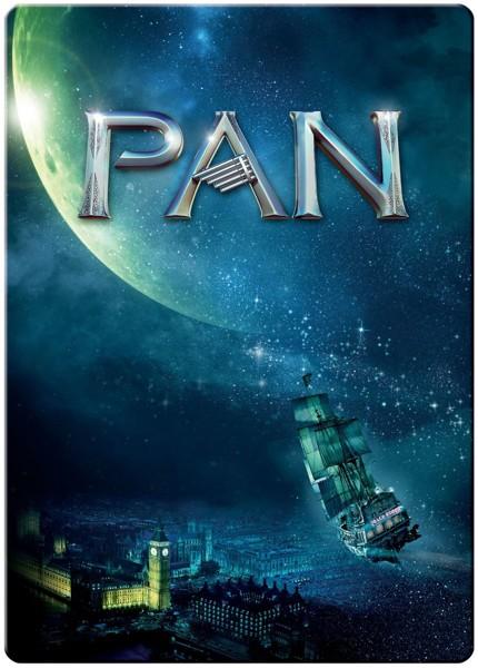 【1,000セット限定生産】 PAN〜ネバーランド、夢のはじまり〜ブルーレイ・スチールブック仕様 (1枚組/デジタルコピー付 ブルーレイディスク)