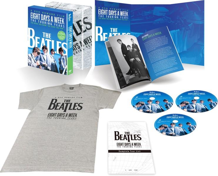 ザ・ビートルズ EIGHT DAYS A WEEK-The Touring Years コレクターズ・エディション(初回限定生産)