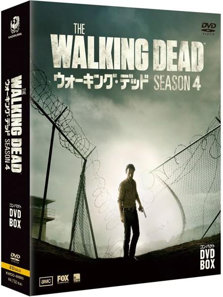 ウォーキング・デッド コンパクトDVD-BOX シーズン4
