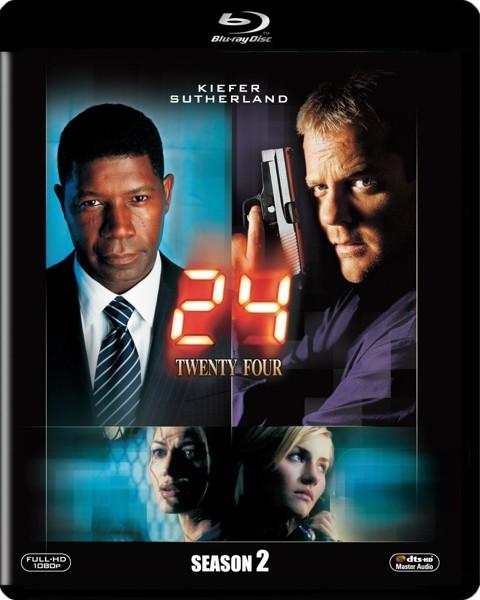 24-TWENTY FOUR-シーズン2  (ブルーレイディスク)