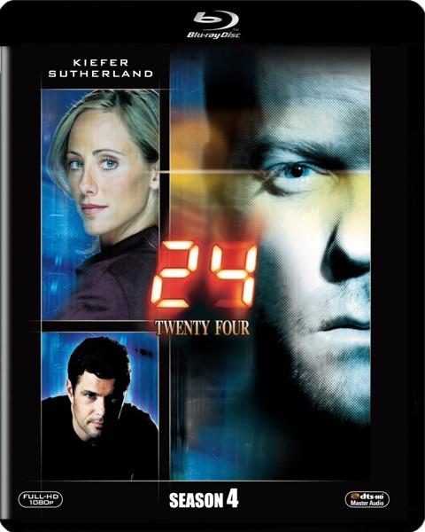 24-TWENTY FOUR-シーズン4  (ブルーレイディスク)