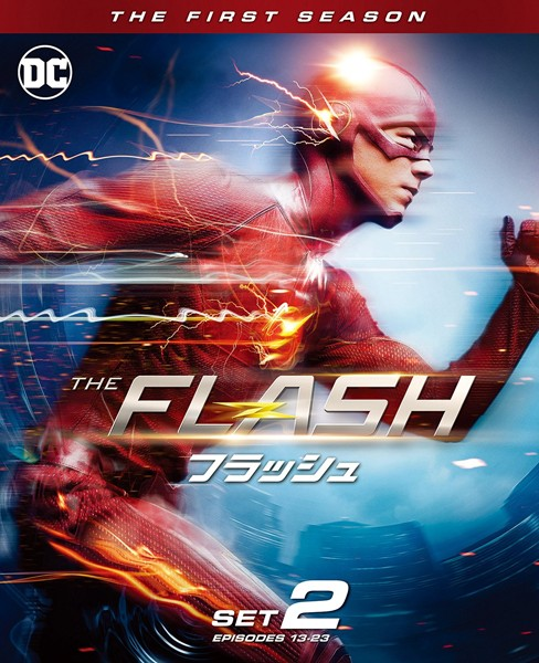 THE FLASH/フラッシュ後半セット (3枚組/13〜23話収録)