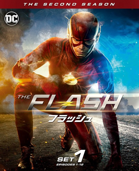 THE FLASH/フラッシュ前半セット (3枚組/1〜12話収録)