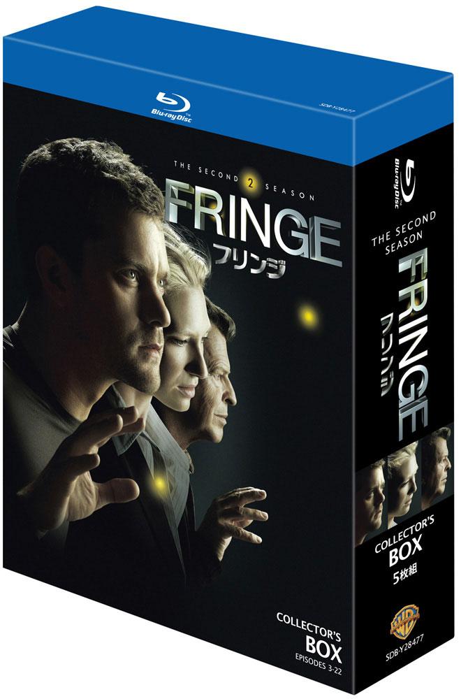 FRINGE/フリンジ コレクターズ・ボックス (4枚組 ブルーレイディスク)