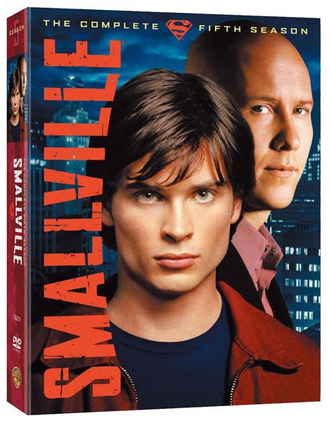 SMALLVILLE ヤング・スーパーマン フィフス・シーズン DVDコレクターズ・ボックス1(6枚組)