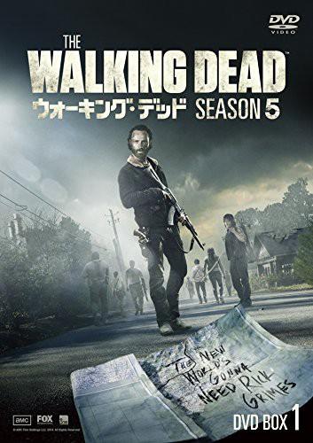 ウォーキング・デッド シーズン5 DVD BOX-1