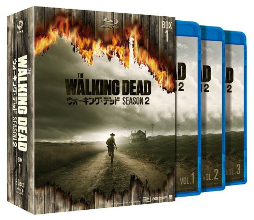 ウォーキング・デッド シーズン2 Blu-ray BOX-1 (ブルーレイディスク)