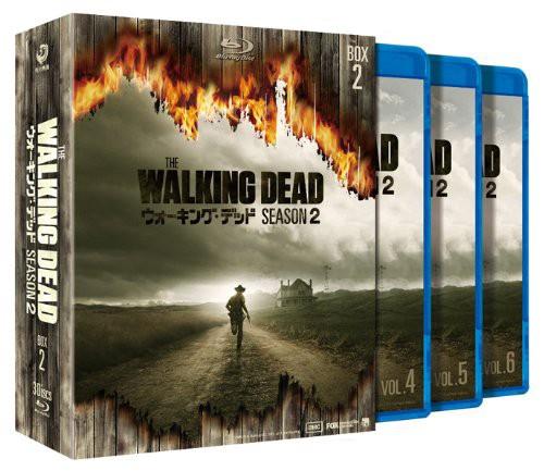 ウォーキング・デッド シーズン2 Blu-ray BOX-2 (ブルーレイディスク)