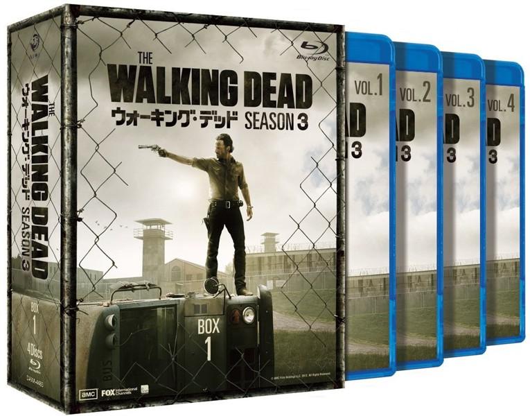 ウォーキング・デッド シーズン3 Blu-ray BOX-1 (ブルーレイディスク)
