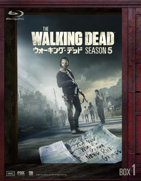 ウォーキング・デッド シーズン5 Blu-ray BOX-1 (ブルーレイディスク)