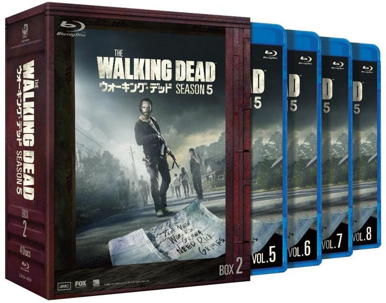 ウォーキング・デッド シーズン5 Blu-ray BOX-2 (ブルーレイディスク)