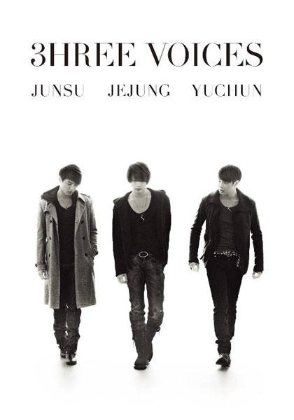 3HREE VOICES/JUNSU、JEJUNG、YUCHUN (初回限定版)