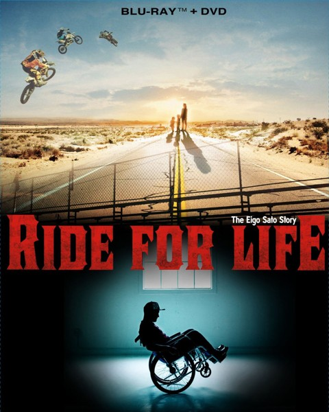 RIDE FOR LIFE〜The Eigo Sato Story〜 (ブルーレイディスク&DVDセット)