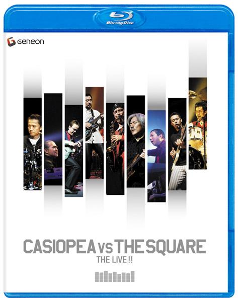 CASIOPEA VS THE SQUARE THE LIVE !!/CASIOPEA、THE SQUARE (ブルーレイディスク)