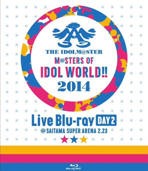 THE IDOLM@STER M@STERS OF IDOL WORLD!! 2014 Day2 (ブルーレイディスク)