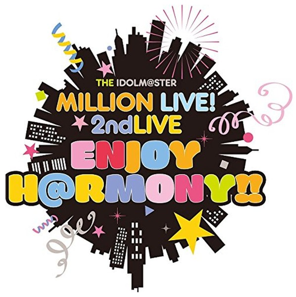 THE IDOLM@STER MILLION LIVE! 2ndLIVE ENJOY H@RMONY!!LIVE DAY1 (ブルーレイディスク)