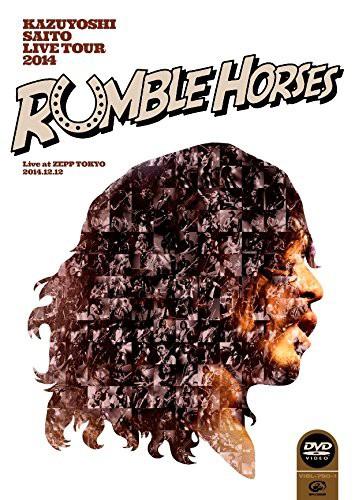 KAZUYOSHI SAITO LIVE TOUR 2014'Rumble Horses'Live at ZEPP TOKYO 2014.12.12/斉藤和義