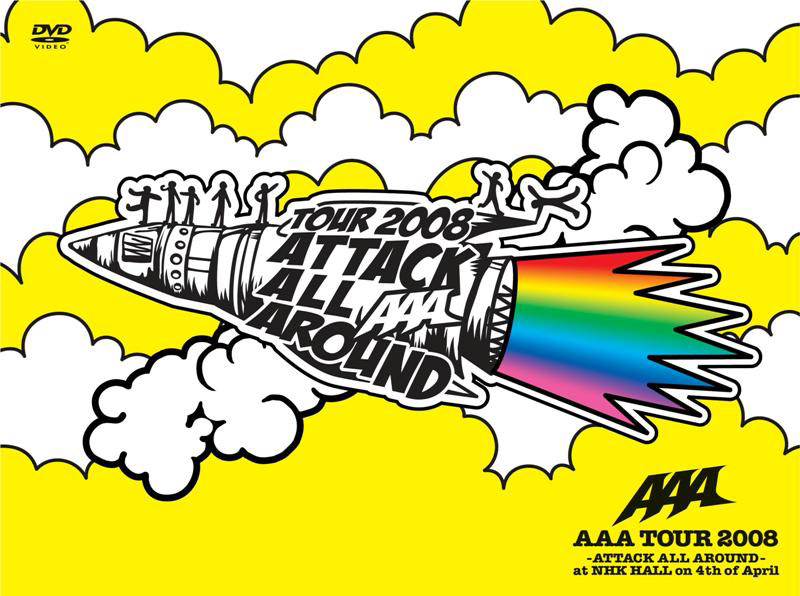 AAA TOUR 2008-ATTACK ALL AROUND-at NHK HALL on 4th of April/AAA (2枚組 スペシャル盤)