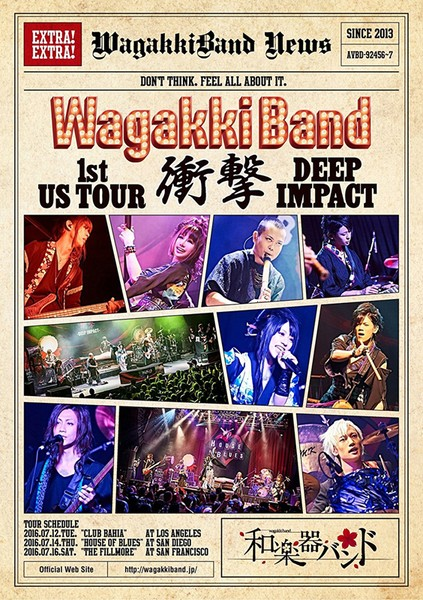 WagakkiBand 1st US Tour 衝撃-DEEP IMPACT-/和楽器バンド(初回生産限定盤)