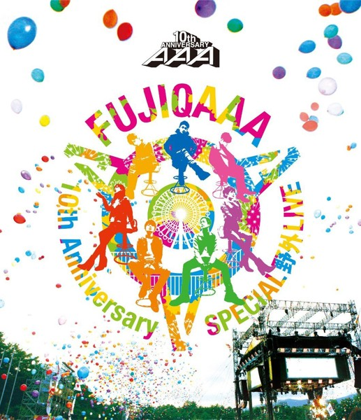 AAA 10th Anniversary SPECIAL 野外LIVE in 富士急ハイランド/AAA (ブルーレイディスク)