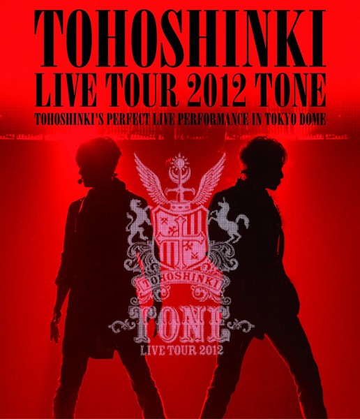 東方神起 LIVE TOUR 2012 〜TONE〜/東方神起 (ブルーレイディスク)